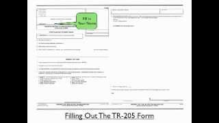 TicketKick Step By Step Guide To Filling Out The TR-205
