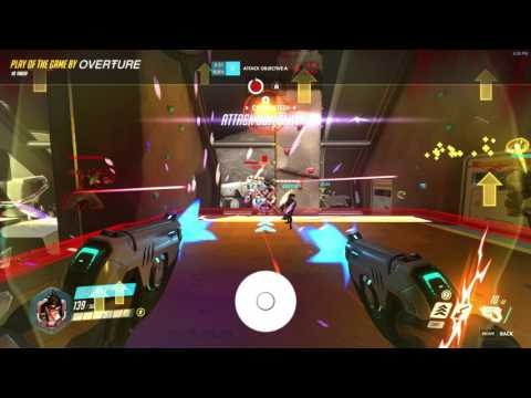 Overwatch - Tracer Quadruple Pulse Bomb
