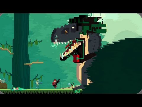 Super Time Force Gameplay from 'Future Past Future' 【Indie Games 2013 HD】