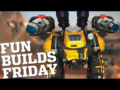 🔴 War Robots - Fun Setups For The Behemoth - Fun Builds Friday Episode 1 | WR Live Stream Gameplay