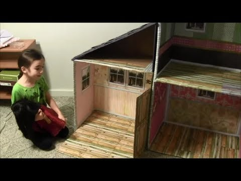doll house for an 18 inch doll american girl doll youtube