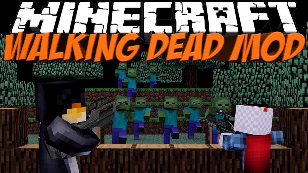 Walking dead mod minecraft crafting dead mod showcase for Crafting dead mod download