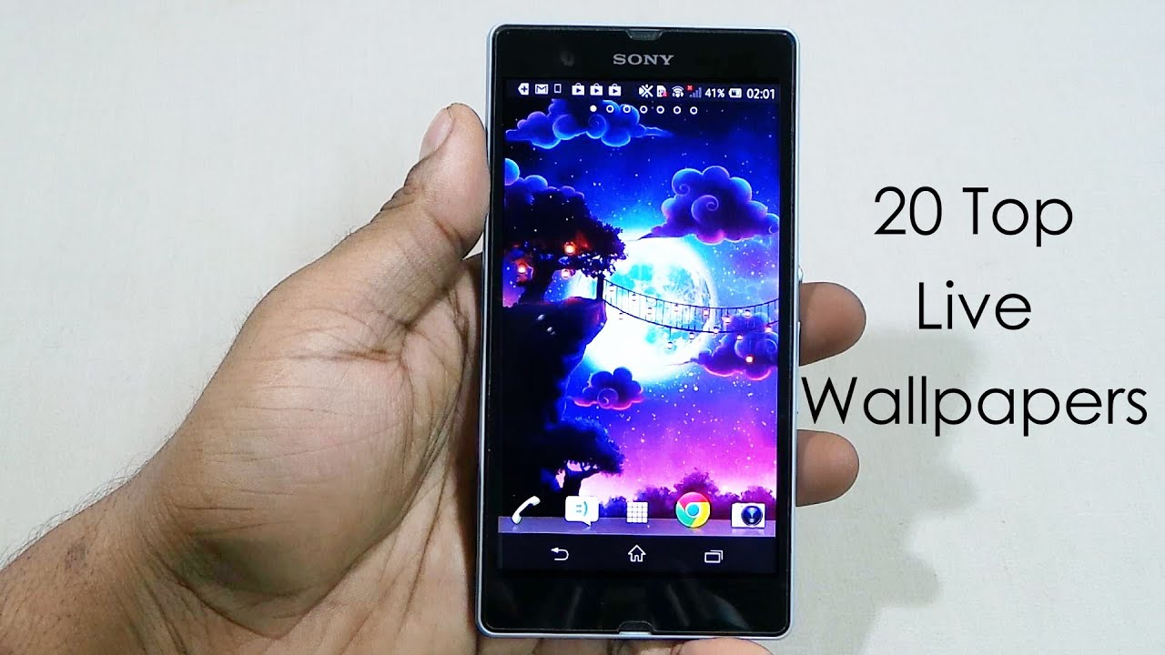 20 best live wallpapers free for android xperia z