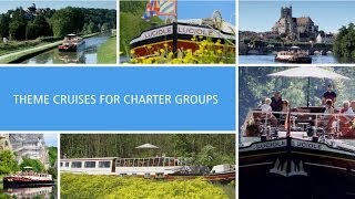 Theme cruises for charter groups on Luciole