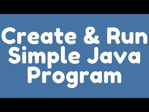 simple java program in eclipse