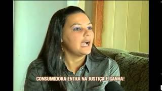 Mulher compra TV com defeito e consegue indeniza��o na justi�a