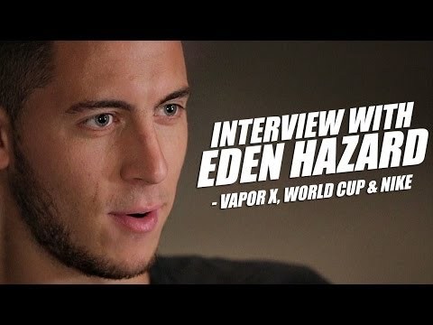 Eden Hazard interview - Nike Mercurial Vapor X