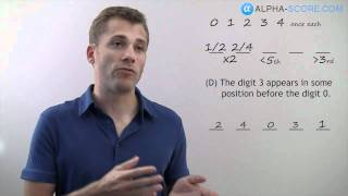 LSAT Logic Game Lesson - Q2 - Second Question in a Basic Ordering Game