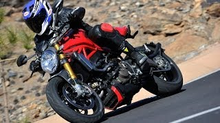2014 Ducati Monster 1200 S First Ride MotoUSA
