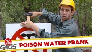 Skryt� kamera: Otr�ven� voda