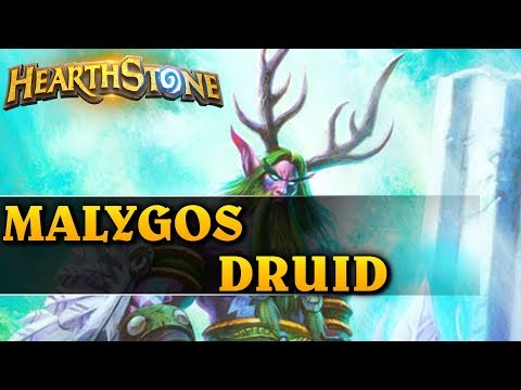TOP 1 NADCHODZI?!!! - MALYGOS DRUID - Hearthstone Decks wild