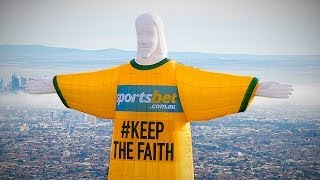 Christ The Redeemer Balloon (Full Video) World Cup