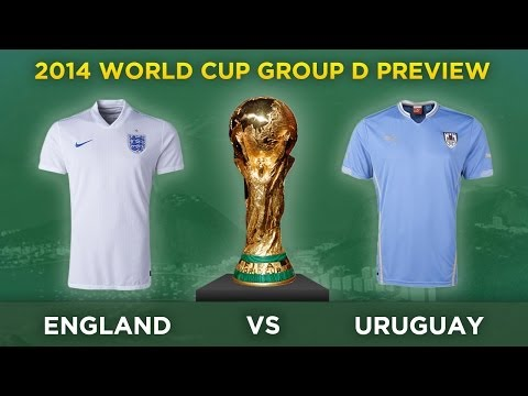 PREVIEW: ENGLAND v URUGUAY | 2014 World Cup Group D Preview