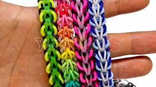 How To Make A Rainbow Loom Tribal Fishtail Bracelet EASY