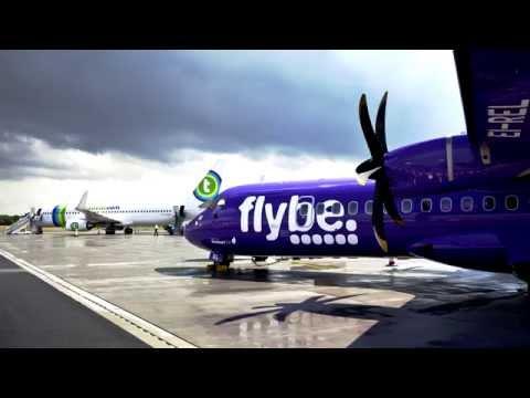 Eerste vlucht Groningen - London Southend