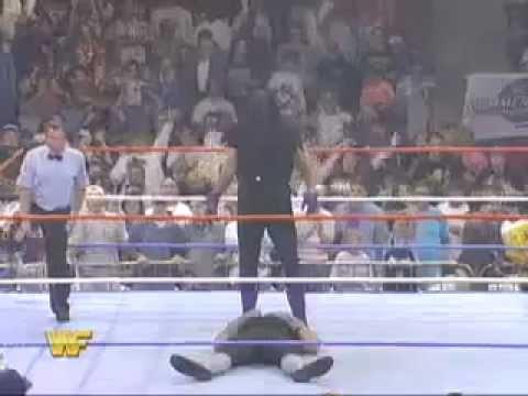 Undertaker vs Ted Dibiasi's Undertaker Summerslam 1994 ...