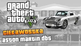 GTA V Aston Martin DB5 (samochód Jamesa Bonda) W GTA V