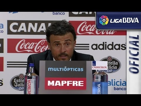 Press Conference Luis Enrique after Celta de Vigo (2-0) Real Madrid - HD