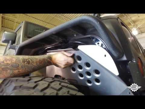 How to Install ACE JK Aluminum Inner Fenders for Jeep Wrangler JK
