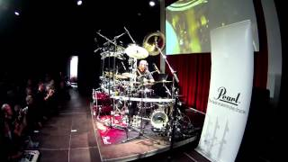 MIKE MANGINI Drum Clinic solo 2013