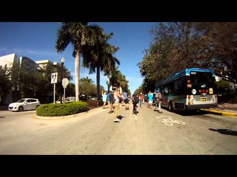 WestSSUP™ Street SUP South Beach Bomb 2014 Miami, FL.