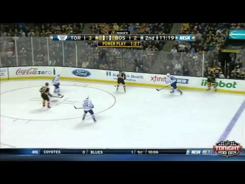 Toronto Maple Leafs at Boston Bruins   01\14\2014