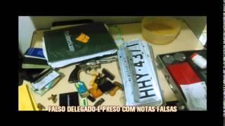 Falso delegado � preso com notas falsas em Mariana