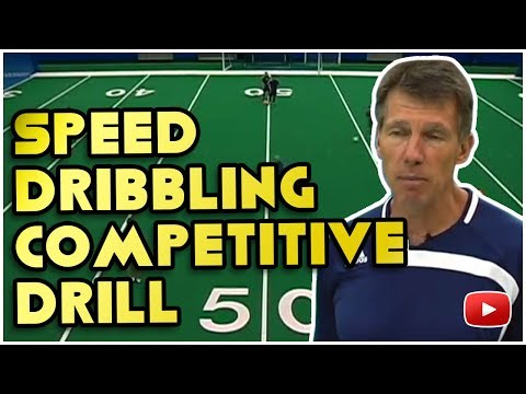 Winning Soccer - Speed Dribbling Competitive Drill  - Coach Joe Luxbacher