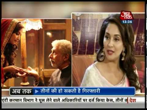 Exclusive: Interview of Madhuri Dixit and Naseeruddin Shah