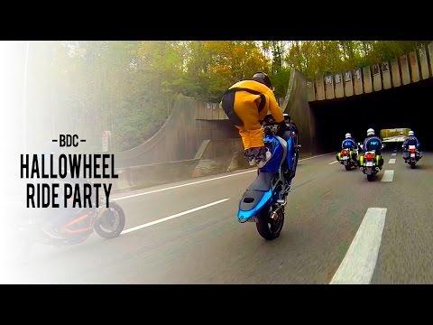 Моторџии со полициска придружба лудуваат во околината на Париз