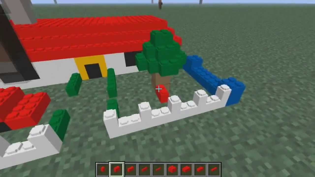 how to build lego minecraft mods