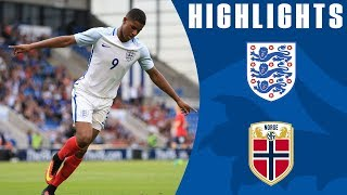 Rashford's hat-trick - England U21 6-1 Norway U21 | Goals & Highlights