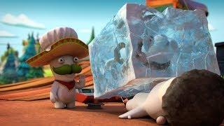 Rabbid Invasion - Zamrznutý zajac