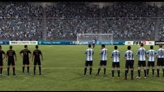 FIFA 13: Argentina Vs Mexico (Full Game World Class