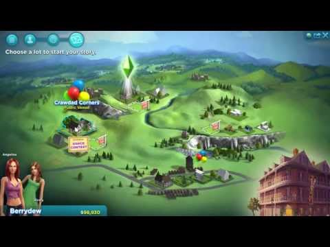 The Sims 4: Early UI and 3D Designs by Chi Chan