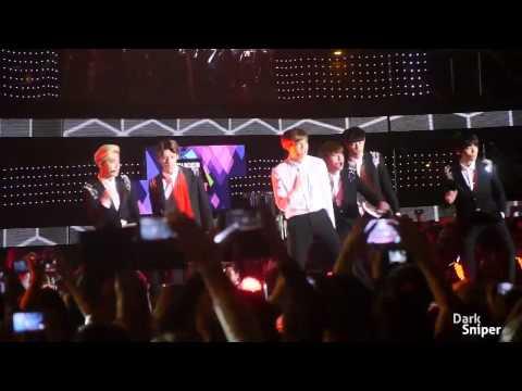 HD Fancam 140917 EXO   Growl @ Incheon Wave Kpop Concert 2014