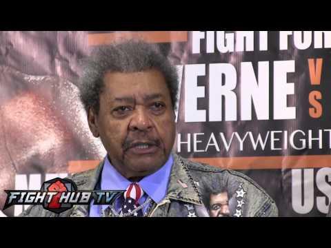 Don King goes on epic rant at Stiverne vs. Arrerola press conference