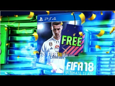 FIFA 18 - JOIN TO WIN FREE COPY FIFA 18 GIVEAWAY + POINTS ULTIMATE TEAM PACK OPENING FIFA 18