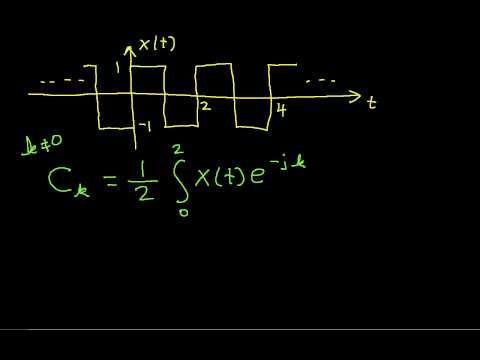 Fourier Series Example: Square Wave Part 1