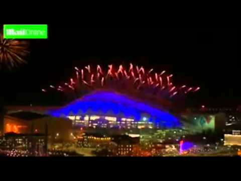 FULL Sochi Winter Olympics 2014 Closing Ceremony Spectacular FIREWORKS