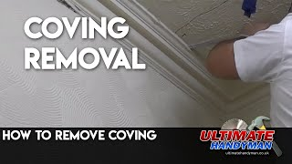 How to remove coving