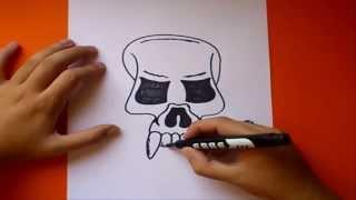 Como Dibujar Una Calavera Paso A Paso 3 How To Draw A