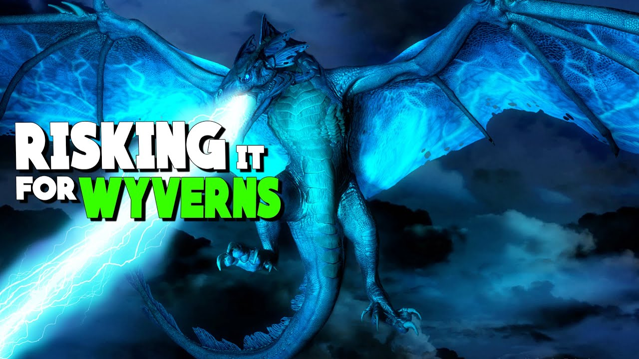 RISKING MY NEW TAME FOR A OP WYVERN EGG! - Primal Fear Modded ARK: Survival  Evolved S1 Ep2