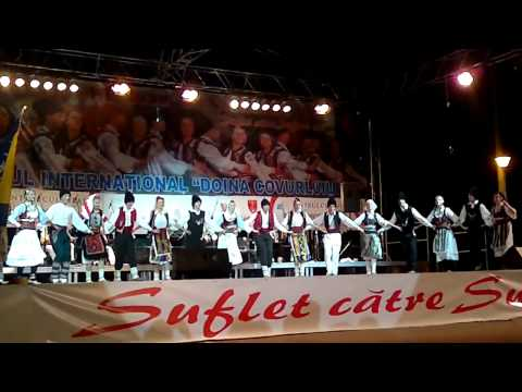 ENSEMBLE SAMAC   BOSNIA HERTEGOVINA IN THE CONTEST NASTUP U RUMUNIJI