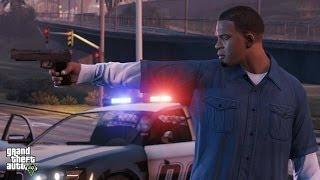 GTA V Missão Franklin E Barry, Círculos Verdes Grandes