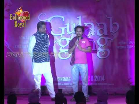 Launch of Song Dheemi Dheemi for the film ''Gulaab Gang'' 1