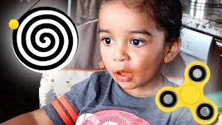 The Time My Nephews Were Fidget Spinning Champs (Day 877)