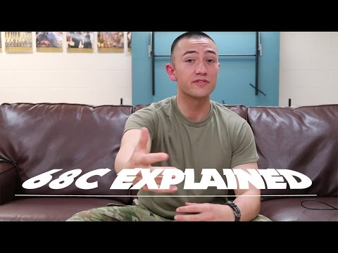 Everything You Need To Know About Being A 68C In The Army