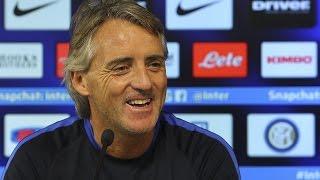 Live! Conferenza stampa Mancini prima di Hellas Verona-Inter 06.02.2016 11:00CET