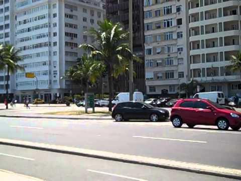 FAMOUS BEACH STREET! (RIO DE JANEIRO, BRAZIL)